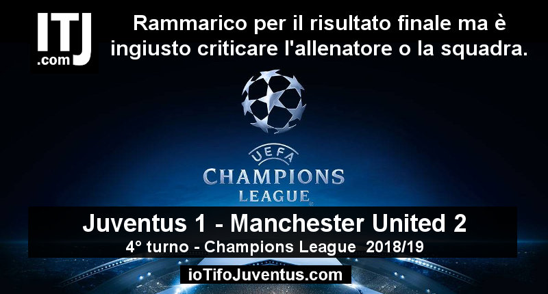 immagine Juventus Manchester Champions League 2018