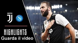immagine video-sintesi Juventus Napoli Serie A 2019-2020